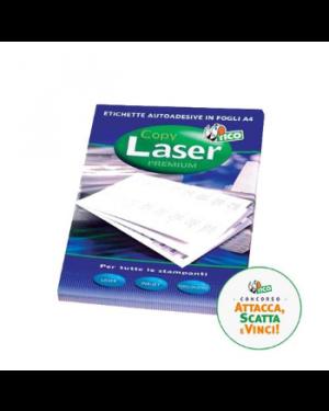 Etichetta adesiva lp4w bianca 100fg a4 70x37mm (24et/fg) laser tico LP4W-7037_83226
