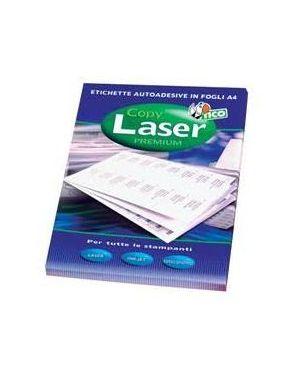 Etichetta adesiva lp4w bianca 100fg a4 105x37mm (16et/fg) laser Tico LP4W-10537_83230