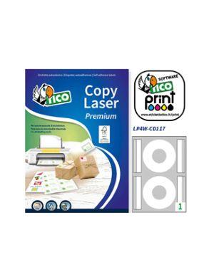 Etichetta adesiva lp4w bianca 100fg a4 47,5x35mm (32et/fg) laser tico LP4W-4735_83232