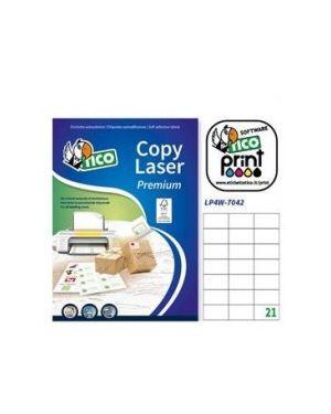 Etichetta adesiva lp4w bianca 100fg a4 99,1x93,1mm (6et/fg) laser tico LP4W-9993_83241