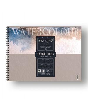 Blocco spiralato 24x32cm 12fg 300gr watercolour torchon fabriano 19100281 8001348197300 19100281_82651 by No