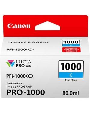 Cartuccia ciano per canon pfi-1000 0547C001_CANPFI1000C