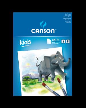 Album colorato kids a4 200g 20fg Canson C400015588 3148950015297 C400015588-1