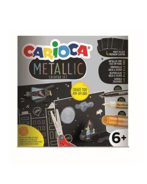 Kit carioca metallic pop up creator Carioca 43165 8003511431655 43165