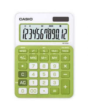 Calcolatrice da tavolo ms-20uc verde casio MS-20UC-GN_82865