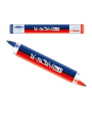 Penna sfera riscrivi duo cancellabile 2in1 blu - rosso osama OW 12054 B/R 8007404244926 OW 12054 B/R_83278 by No