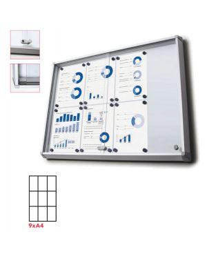 Bacheca interni magnetica 9xa4 ante scorrevoli jansen SCSL9xA4 8595578316292 SCSL9xA4_83282