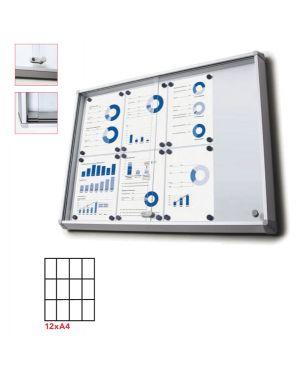 Bacheca interni magnetica 12xa4 ante scorrevoli jansen SCSL12xA4 8595578316315 SCSL12xA4_83283