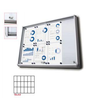 Bacheca interni magnetica 18xa4 ante scorrevoli jansen SCSL18xA4 8596052020766 SCSL18xA4_83284