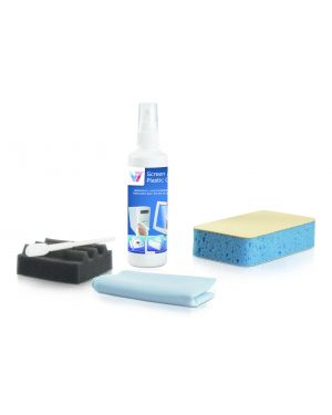Kit pulizia pc 8 pezzi V7 - CLEANING VCL1491 4038489027627 VCL1491_J152159 by No