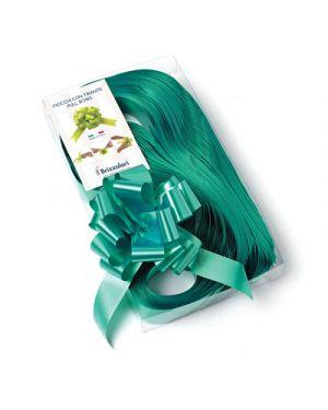 Fiocco rapid starlight liscio mm.31 pezzi 30 smeraldo 09 2100