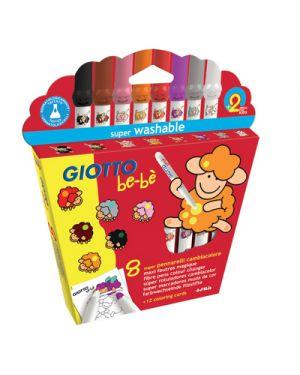 Pennarelli giotto bebe cambiacolore pz.8 + album da colorare GIOTTO 467900 8000825008566 467900