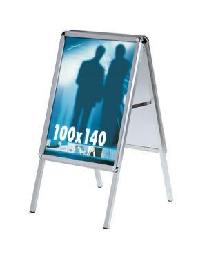 Cavalletto bifacciale cm.100x140 profilo mm.32 angolo tondo STUDIO T 1107052 8033162462197 1107052