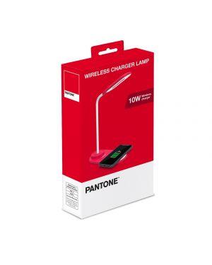 Wireless charger lamp mini rd Pantone PT-LD001R1 4713213365304 PT-LD001R1