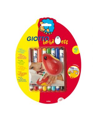 Pennarelli giotto bebe da pz.8 + giotto bebe' egg GIOTTO 464100 8000825464102 464100 by Giotto