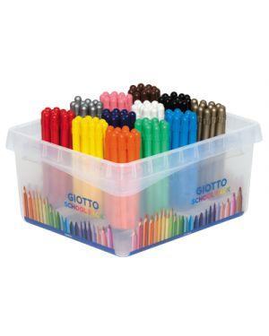 Pastelli cera giotto strong schoolpack pz.144 da 12x12 colori GIOTTO 524800 8000825005831 524800