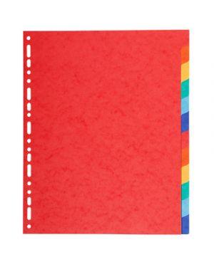 Intercalare maxi 12 tacche colorato EXACOMPTA 2112 3130630021124 2112 by No