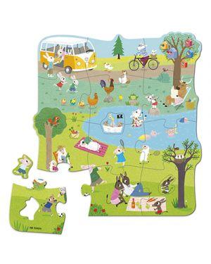 Puzzle xxl un giorno in campagna GOULA 53427 8410446534274 53427 by No