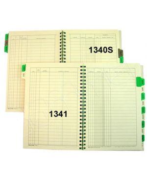 REGISTRO SCADENZE EFFETTI PASSIVI FLEX 12 MESI 48 FG C/SPIRALE 15,5X21 134100000