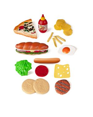 Fast food in plastica ass 19 pz MINILAND 30585 8413082305857 30585 by No