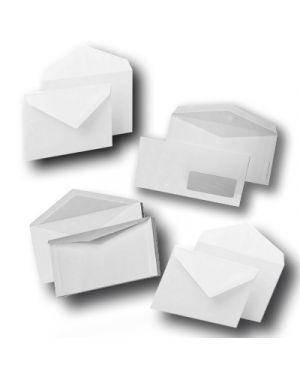 Busta bianca 11x23 - 80 con finestra pz.500 BLASETTI 126 8006873110121 126