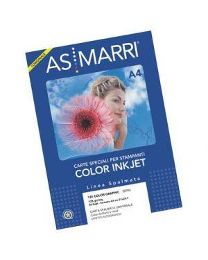 Carta color graphic spalmata gr.120 a4f g.50 marri 8096 8096