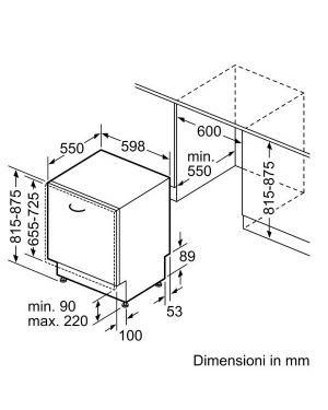 Lavast 13cp e 60cm extraclean homec Bosch SMV4HDX58E 4242005175727 SMV4HDX58E