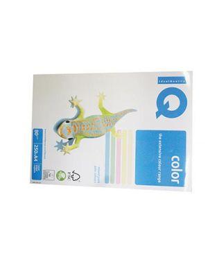 Carta fotocopie colorata tenue gr.80 a4 i/q rb01 5 colori fg.250 180044522