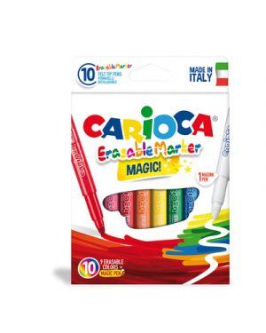 Pennarello carioca erasable marker pz.10 CARIOCA 41238 8003511412388 41238 by No