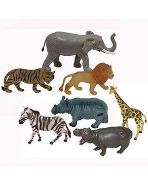 Box animali giungla pz 7 MINILAND 25123 8413082251239 25123 by No