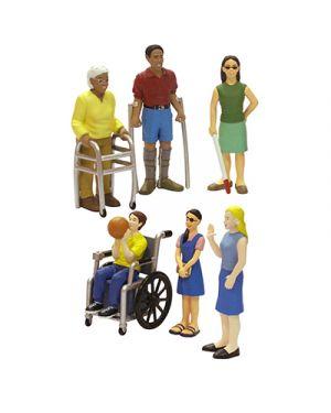 Set figure con disabilità MINILAND cod. 27389 8413082273897 27389 by No
