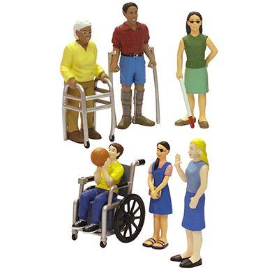 Set figure con disabilita' MINILAND 27389 8413082273897 27389 by No