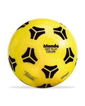 Pallone in gomma hot play fluorescente diametro 23 cm MONDO 1044 8001011010448 1044