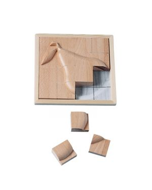 Puzzle in legno rilievo pera BELEDUC 30216 4014888302176 30216 by No