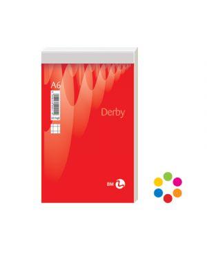 Blocco notes punto metallico derby plus a6 fg.60 gr.60 5mm BIEMME ARTI GRAFICHE 100011 8008234000119 100011 by No