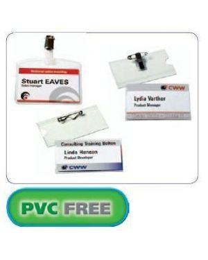 Portanome c - clip 54x90 pz.50 pvc free AVERY 4820 5014702001314 4820 by Avery