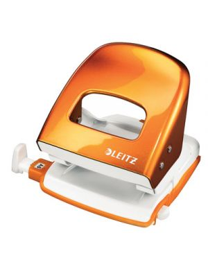 Perforatore leitz 5008 wow arancione metallizzato 50081144