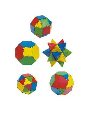 Box costruzioni geometriche pz 54 MINILAND 32117 8413082321178 32117 by No