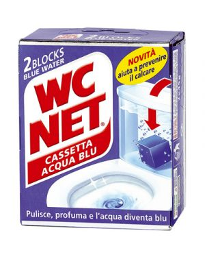 Wc net cassetta water blu pz.2 WC NET 110865 8004050002405 110865