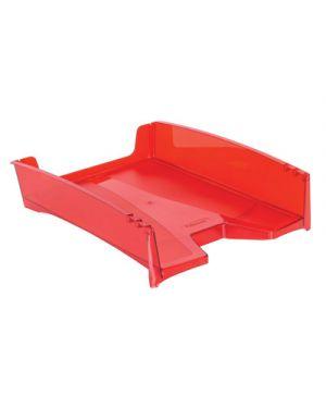 Vaschetta portacorrispondenza green2desk trasparente rosso FELLOWES 8701 0043859700042 8701