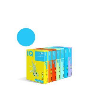 Carta fotocopie colorata tenue gr.80 a4 i/q blu medio mb30 fg.500 180037021