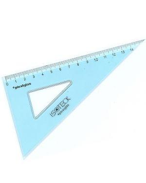 Squadra isotek tecnica in plexiglas 16/60 73116