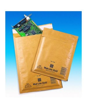 Buste imbottite mail lite b 12x21 avana imballo pz.100 SEALED AIR 103027401 5051146000121 103027401