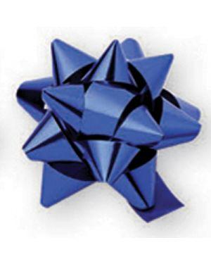 Fiocco rapid splendid metallizzato mm.50 pezzi 30 blu 08 BRIZZOLARI 2270 8031653046512 2270 by Brizzolari