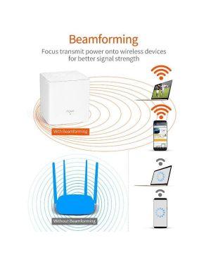 Home mesh wifi system mw3 2pack Tenda NOVA MW3(2-PACK) 6932849427844 NOVA MW3(2-PACK)
