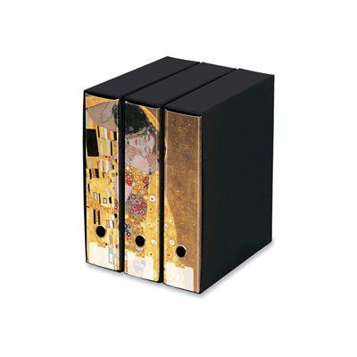 Raccoglitore kaos set 3 pezzi prot. dorso 8 klimt - il bacio GUT EDIZIONI 86267 8013075862673 86267 by No