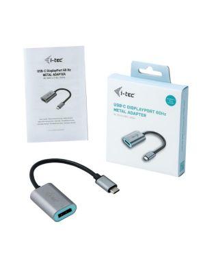 Usb-c metal display port adapt 60hz I-Tec C31METALDP60HZ 8595611702617 C31METALDP60HZ