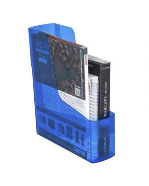 Portariviste green2desk trasparente blu FELLOWES 17601 0043859700080 17601