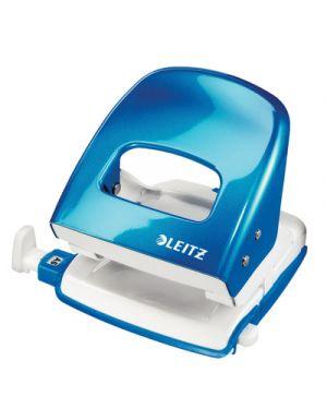 Perforatore leitz 5008 wow azzurro metallizzato 50081136