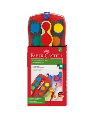 Acquerelli connector faber pz.12 FABER CASTELL 125023 4005401250234 125023 by No